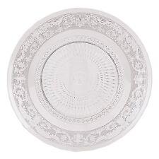 Teller 20 cm Glas Glasteller Dekor Keksteller Kuchenteller Dessertteller Kuchen