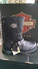 Harley-Davidson Men's Radcliff Black Leather Motorcycle Mid Boot D95238