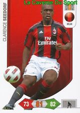 CLARENCE SEEDORF NETHERLANDS AC.MILAN CARD CALCIATORI ADRENALYN PANINI 2011