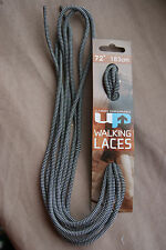 """72"""" EXTRA LONG BLACK GREY HIGH LEG WALKING HIKING ROUND BOOTLACES BOOT LACES"""