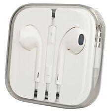 New OEM Earphones w Mic Apple Iphone 5 5S 6 6S EarPods Earbuds Headset MD827LL/A