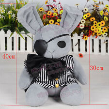 Anime Black Butler Kuroshitsuji Dall Ciel Plush Doll Peter Rabbit Toy 40cm Soft