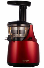 Hurom Slow Juicer he serie (hu-500) rosso/Juicer succo di stampa/he-rbe04