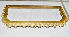 frühes feuervergoldetes  Mittelteil um 1870 für französisches Pendulen 1d