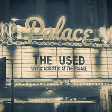 THE USED LIVE AND ACOUSTIC AT THE PALACE CD + DVD NUOVO SIGILLATO !!
