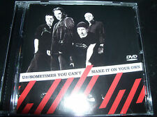 U2 Sometimes You Can't Make It On Your Own DVD Single – Like New