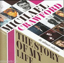 MICHAEL CRAWFORD The Story Of My Life CD - 2 disc set - Ultimate Collection