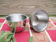 2 Stainless Steel Kitchen Sm Prep Cooking Mixing Bowls Bloomfield Industries Inc
