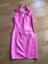 Westward Bound Emilie womans pearlsheen fuschia latex rubber dress size 10/small