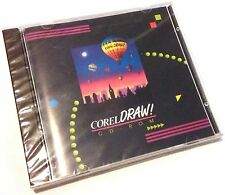 NEW Corel Draw 3 CD ROM Graphic Draw Digital Photo Image Editing Paint Software