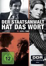 Der Staatsanwalt hat das Wort - Box 5 (DDR-TV-Archiv) [4 DVDs] Neu!