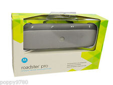 NEW Motorola Roadster PRO Bluetooth Car Wireless Speakerphone - Silver - Retail