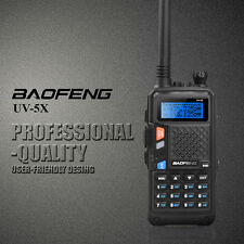 2015 Baofeng UV-5X UHF+VHF Dual Band/Dual Watch Two-Way Ham Radio Walkie Talkies
