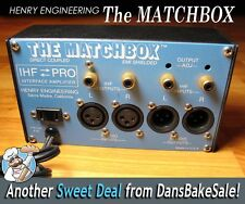 Henry Engineering The Matchbox IHF Pro Stereo Level Matching Interface / Amp