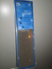 Corrugated Cardboard Cat Scratcher With Honey Comb Texture with Cat Nip-NEW!