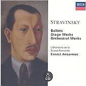 STRAVINSKY 8 X CD BOX SET (NEW & SEALED) Ballets; Stage Works; Orchestral Works