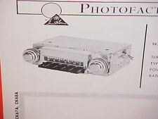 1967 1968 CHEVROLET GMC PICKUP TRUCK SUBURBAN CORVAN VAN AM RADIO SERVICE MANUAL