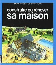 Construire ou rénover sa maison Société de contrôle technique Occasion Livre