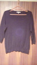 ladies black jumper size 14 from laura ashley