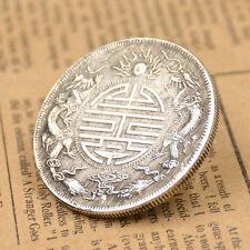 Fengshui Glückbringende Münzen Erfolg Reichtum Sammeln Antik Qing-Dynastie 39mm