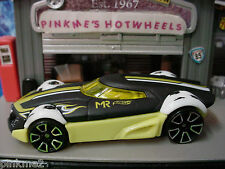 2014 Hot Wheels MR11∞Black/Yellow;Soccer∞Marco Reus,Germany∞Goal∞LOOSE∞col 15
