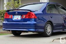 RARE NEW PRICE ACURA 1.7 EL REAR SKIRT OE STYLE BODY KIT 04 05 AFP 2004 2005 AFP