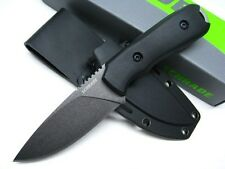 SCHRADE Black Full Tang FRONTIER Straight Fixed Survival Knife + Sheath! SCHF55
