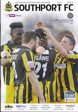 2013/14 SOUTHPORT V MACCLESFIELD TOWN 15-03-2014 Skrill Premier (Excellent)