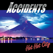 "THE ACCIDENTS Hot Hot City 7"" . punk rock v8 wankers motorhead peter pan speedro"