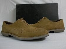 Andrew Marc Size 10.5 M Dyker Brown Leather Oxfords New Mens Shoes