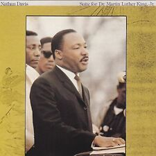 NATHAN DAVIS Suite For Dr. Martin Luther King Jr TOMORROW INTERNATIONAL Vinyl LP