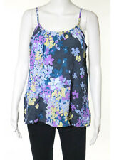 NWT TUCKER Multicolored Silk Spaghetti Strap Floral Print Camisole Sz S