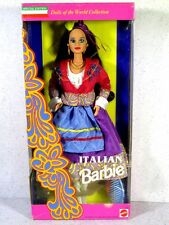 NIB BARBIE DOLL 1993 DOLLS OF THE WORLD ITALIAN