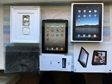 Apple iPad 1st Gen 64gb Grey A1337 (AT&T) Wi-Fi + 3G w/Case and Accessories