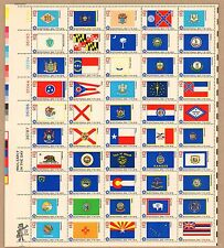 1633-82   50 State Flags  MNH  13 cen Sheet of 50.   Issued in 1976
