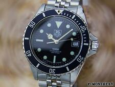 Tag Heuer 1000 Professional 200m Swiss Made Stainless St Men's 1980s Watch F158