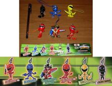 SET 6 Figure POWER RANGERS SWING Laccetto Dangler BANDAI Gashapon SUPER SENTAI