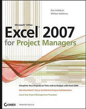 Acceptable, Microsoft Office Excel 2007 for Project Managers, Heldman, Kim, Book