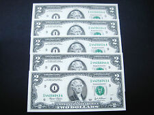 New listing (5) $2 2003 I Minneapolis Federal Reserve Note Choice Unc Bu Note
