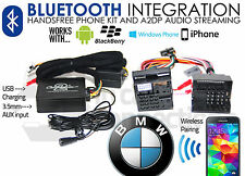 BMW Bluetooth streaming handsfree calls CTABMBT009 AUX USB MP3 iPhone Samsung