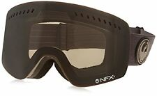 Dragon Alliance NFXS Ski Goggles, Melanoid Heather/Dark Smoke + Yellow