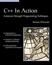 C++ In Action: Industrial Strength Programming Techniques (With CD-ROM-ExLibrary