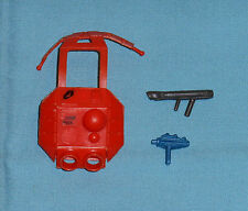 vintage Zylmex METAL MAN WEAPONS ACCESSORIES LOT x3 C backpack weapons