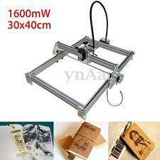 1600mW 30x40cm Desktop Laser Engraving Engraver Cutting Machine DIY Logo Printer