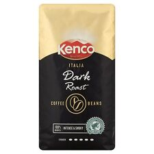 KENCO ITALIA FRESH DARK ROAST BEANS 1KG FRESHLY ROASTED COFFEE WHOLE BEAN CUP