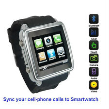 SmartWatch (Classic Case) Sync calls to iPhones,Android Phones,Bluetooth Phones