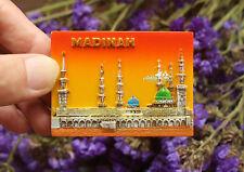 Masjidal-Madinah, Saudi Arabia Tourist Travel Souvenir 3D Resin Fridge Magnet