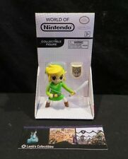 "Toon Link Windwaker World of Nintendo white box 2.5"" figure toy Jakks Pacific"