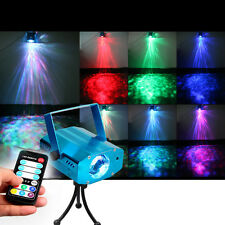 LED Laser Projector Club DJ Bar Party Light Stage Lighting Disco Voice-activated
