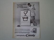 advertising Pubblicità 1968 LAVASTOVIGLIE CANDY